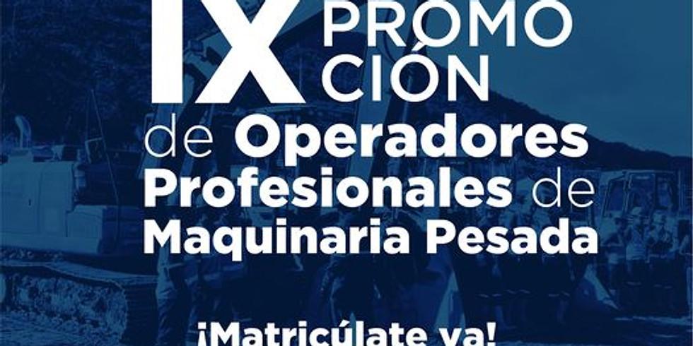CURSO OPERADOR PROFESIONAL DE MAQUINARIA PESADA