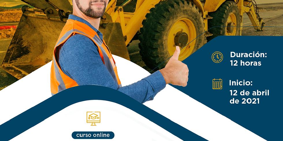 Certificación en prevención de riesgos laborales en construcción y operación de maquinaria pesada