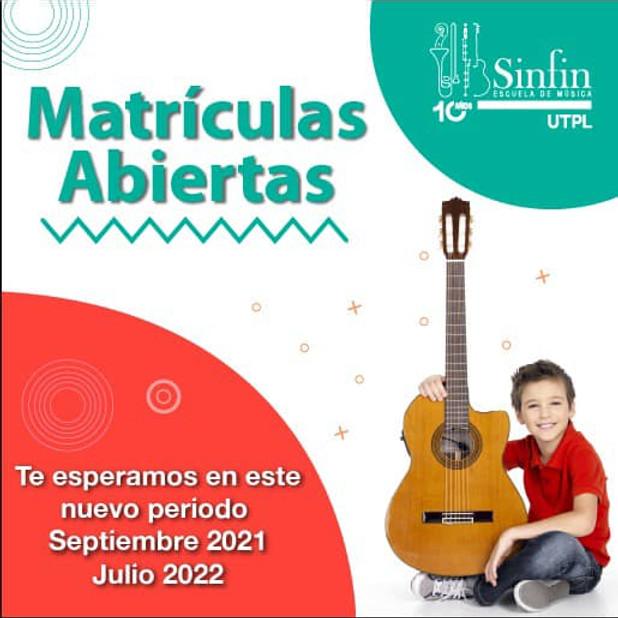 SINFIN - MATRÍCULAS ABIERTAS