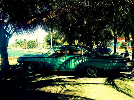 Classic car of Cuba