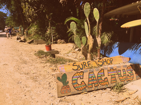 Good vibes in small surfer villages