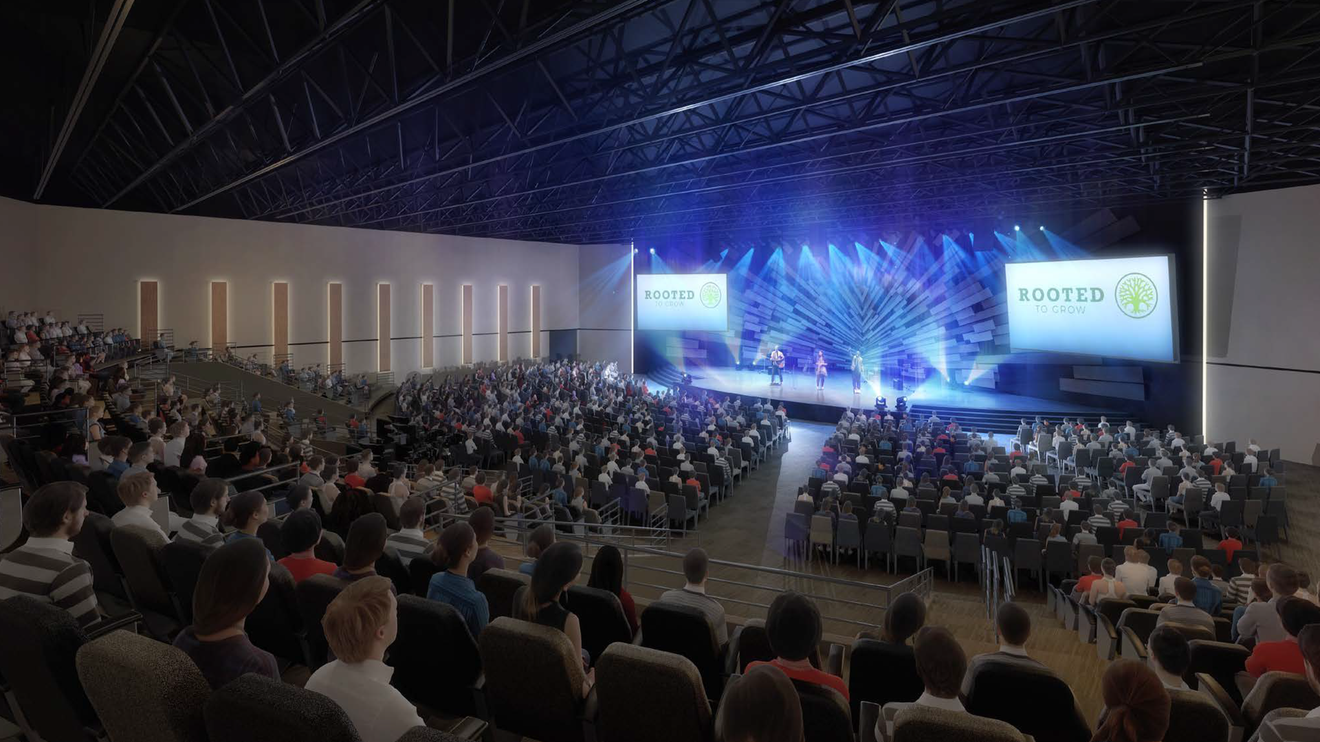 Our new Worship Center...