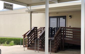 Adult Building Entrance