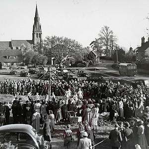 Hallow Village History