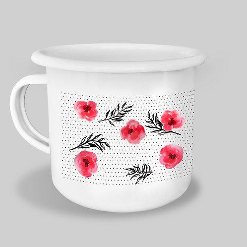 Mug - Coquelicots
