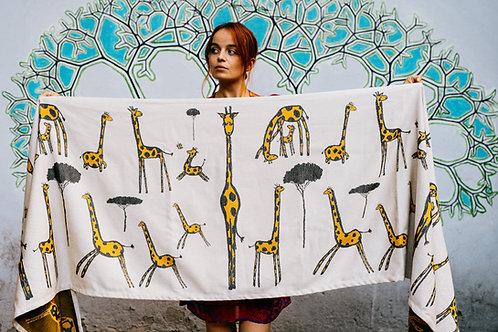 """Autographe de girafe"""