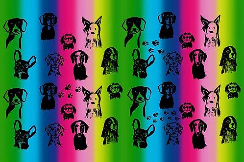 HAU HAU (cotton and rainbow version)