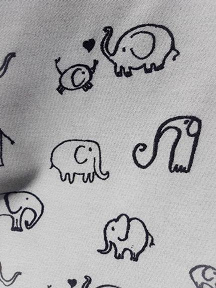 Son d'elephant monochrome