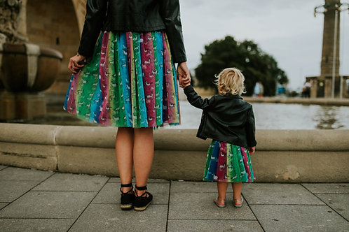 Over the rainbow- tulle skirts