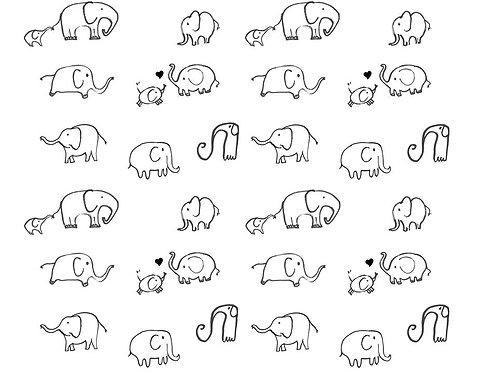 Le son d'elephant - Monochrome