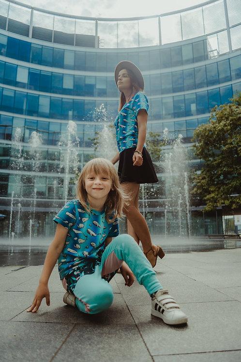 La fontaine de la Baleine - t-shirts