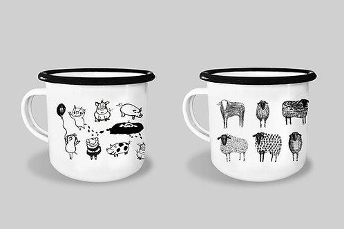 Mug - Oink Oink or Black sheep