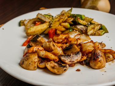 Hibachi Shrimp Dinner