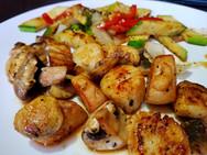 Hibachi Scallop Dinner