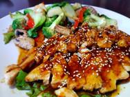 Sesame Chicken Dinner Entrées