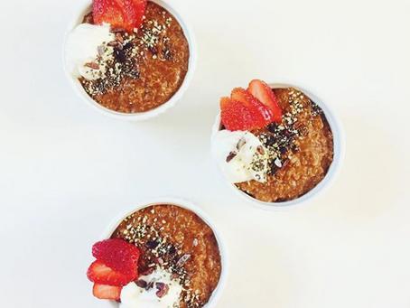 PB&C breakfast quinoa