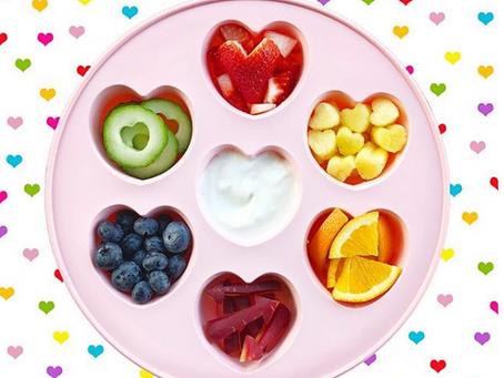 Rainbow Valentine Snack Tray