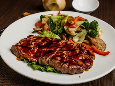 Rib Eye Steak Dinner Entrées