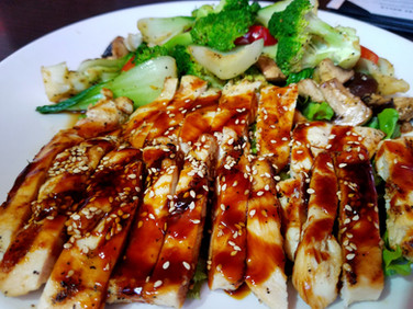 Chicken Teriyaki Dinner Entrées