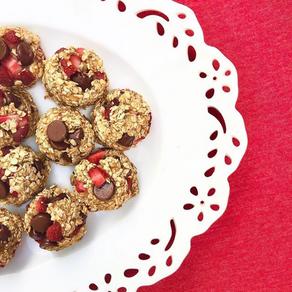 Chocolate Strawberry Cookies