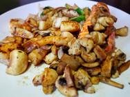 Hibachi Seafood Combo Dinner Combo