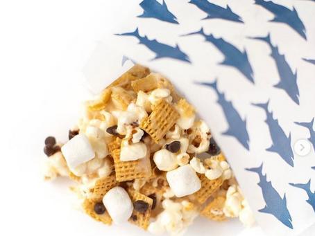 Gluten Free S'mores Popcorn