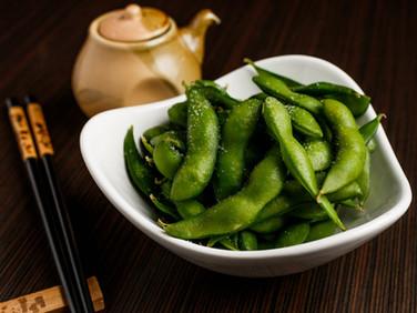 Edamame (Hot,Cold or Garlic Spice).