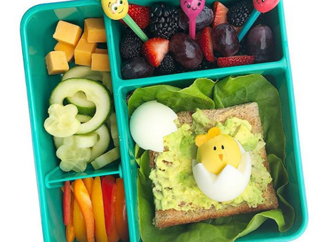 Egg-cellent Lunch Idea