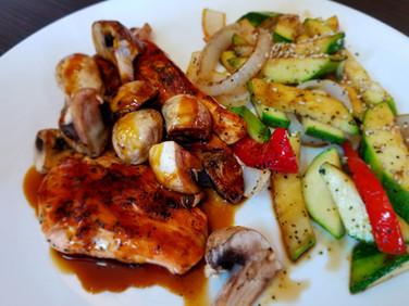 Hibachi Calamari Dinner