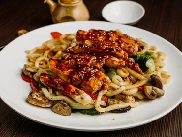 Chicken Yaki Dinner Udon