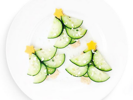 Cucumber Tree Sandwich