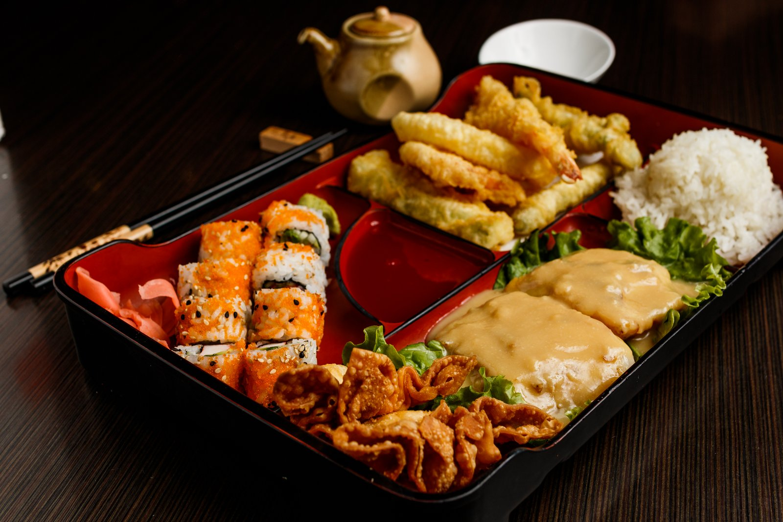 Miso Seabass Bento Box