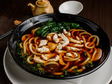 Chicken Dinner Udon