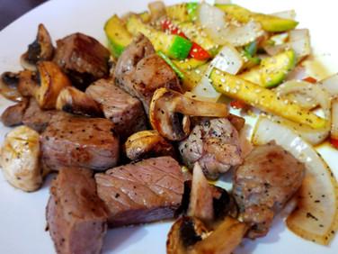 Hibachi Filet Mignon Dinner