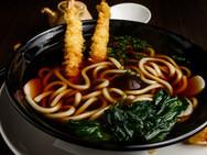 Shrimp Tempura Dinner Udon