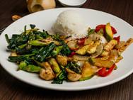 Hibachi Vegetable Dinner