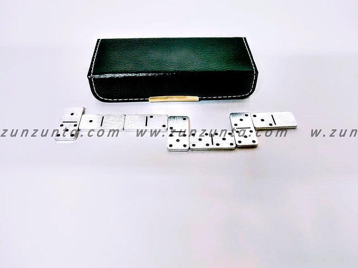 Mini Domino Metálico con Estuche