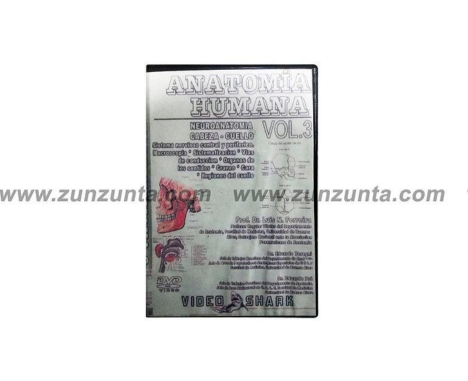 """DVD """"Anatomía humana VOL 3 """""""