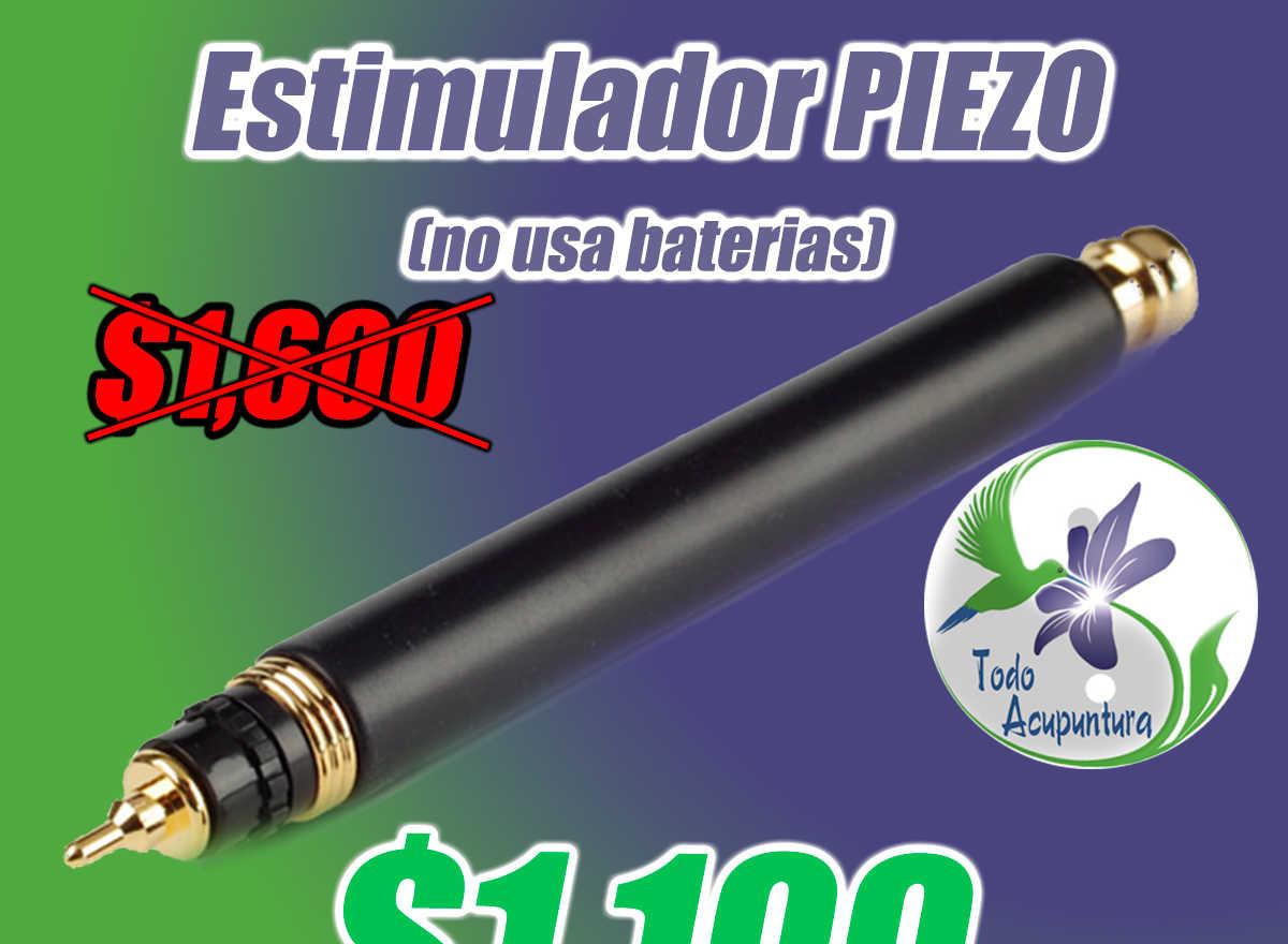 Estimulador tipo Piezo activado con cristales, no usa baterias (envío gratis)