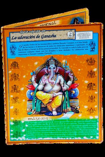Guía rápida de La adoración de Ganesha