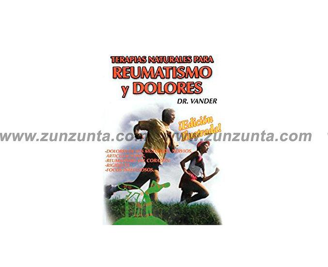 """Libro """"Terapias Naturales para Reumatismo y Dolores"""""""