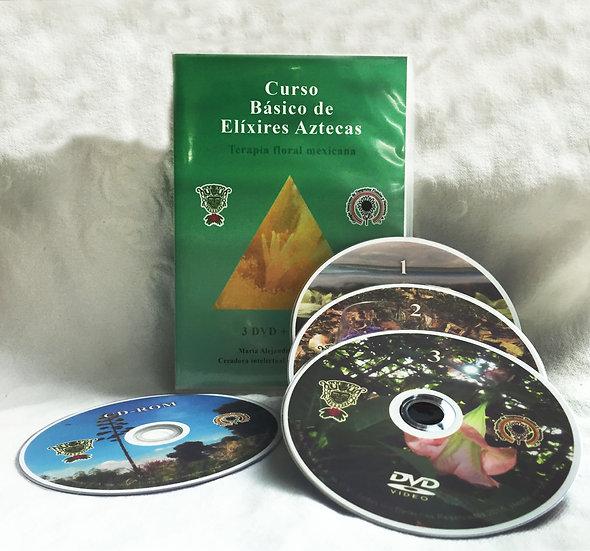 Curso de Elixires Aztecas en DVD