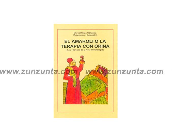 """Libro """"El amaroli o la terapia con orina"""""""