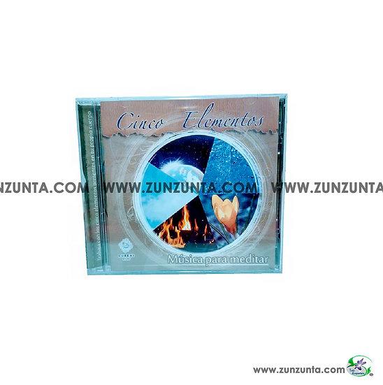 CD Cinco Elementos Música para Meditar.