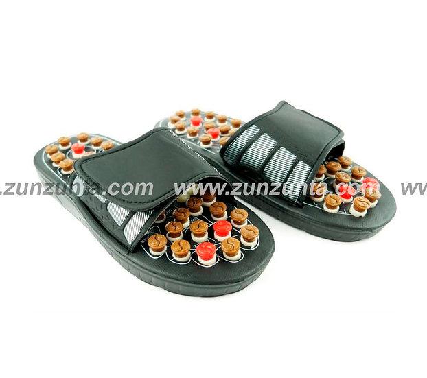 Sandalias giratorias de masaje de pies de acupresión