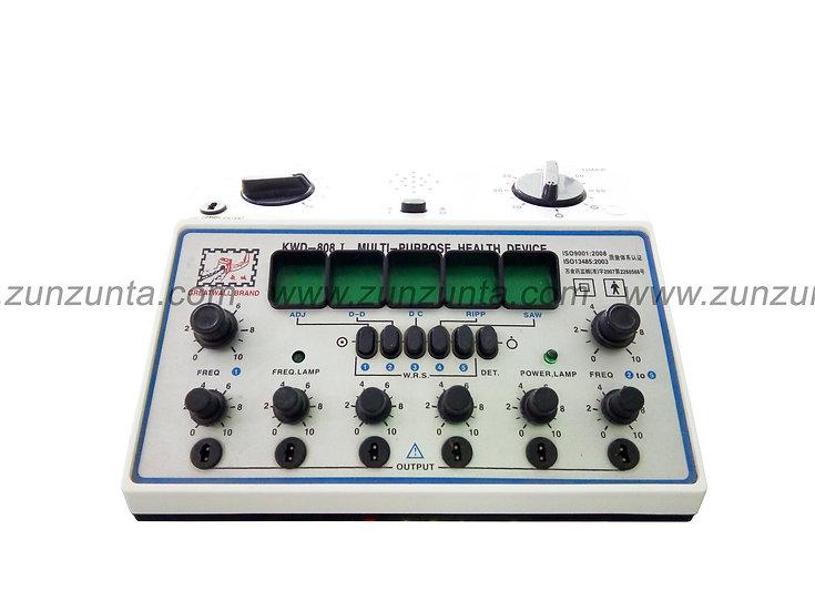 Electro estimulador KWD 808-1 para acupuntura 6 canales