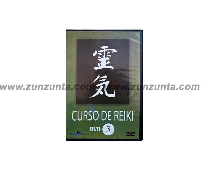 """DVD """"Curso de Reiki III"""""""