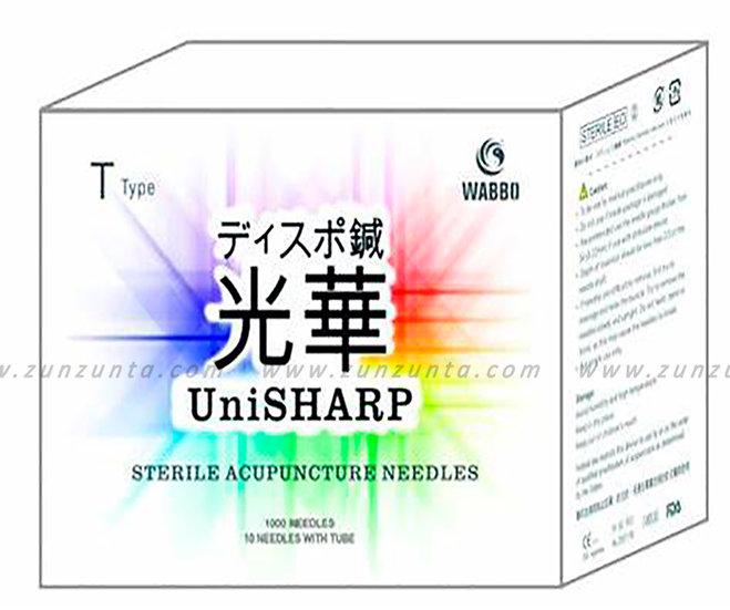 Agujas para Acupuntura UniSHARP de Acero 1000pzs