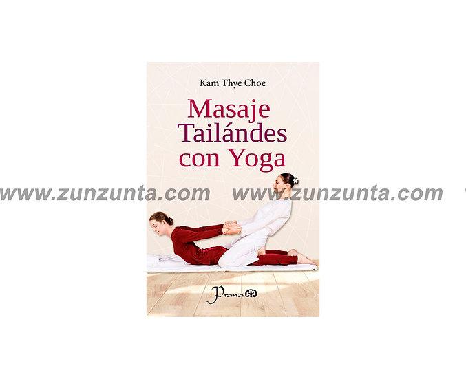 """Libro """"Masaje tailandes con yoga"""""""