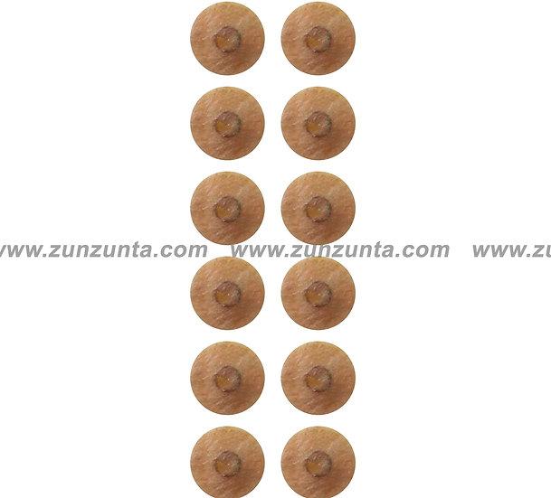 100 Tachuelas con parche Micropore (tira con 20)